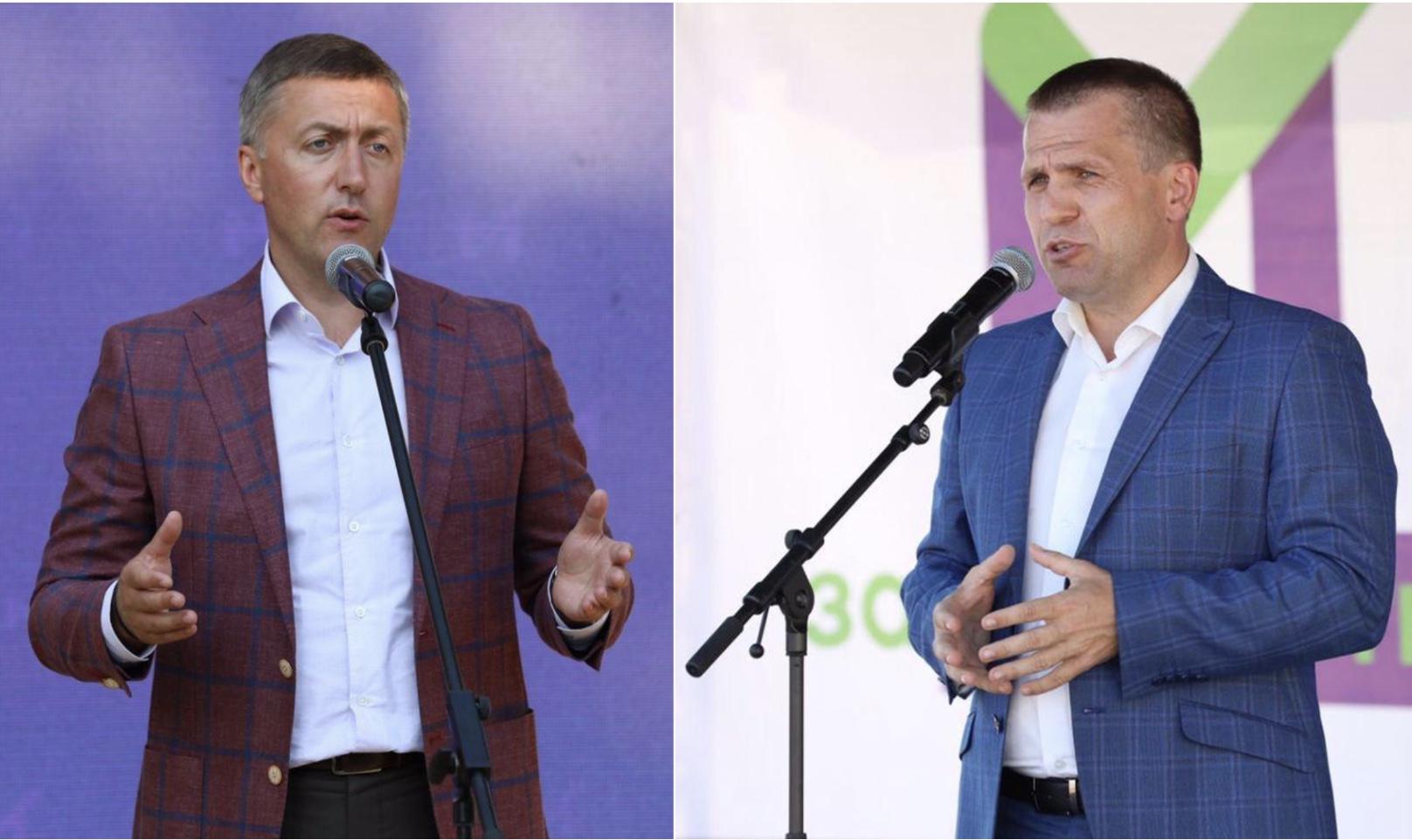 """Партія """"За майбутнє"""" представила свою команду в Чорноострівській ОТГ"""