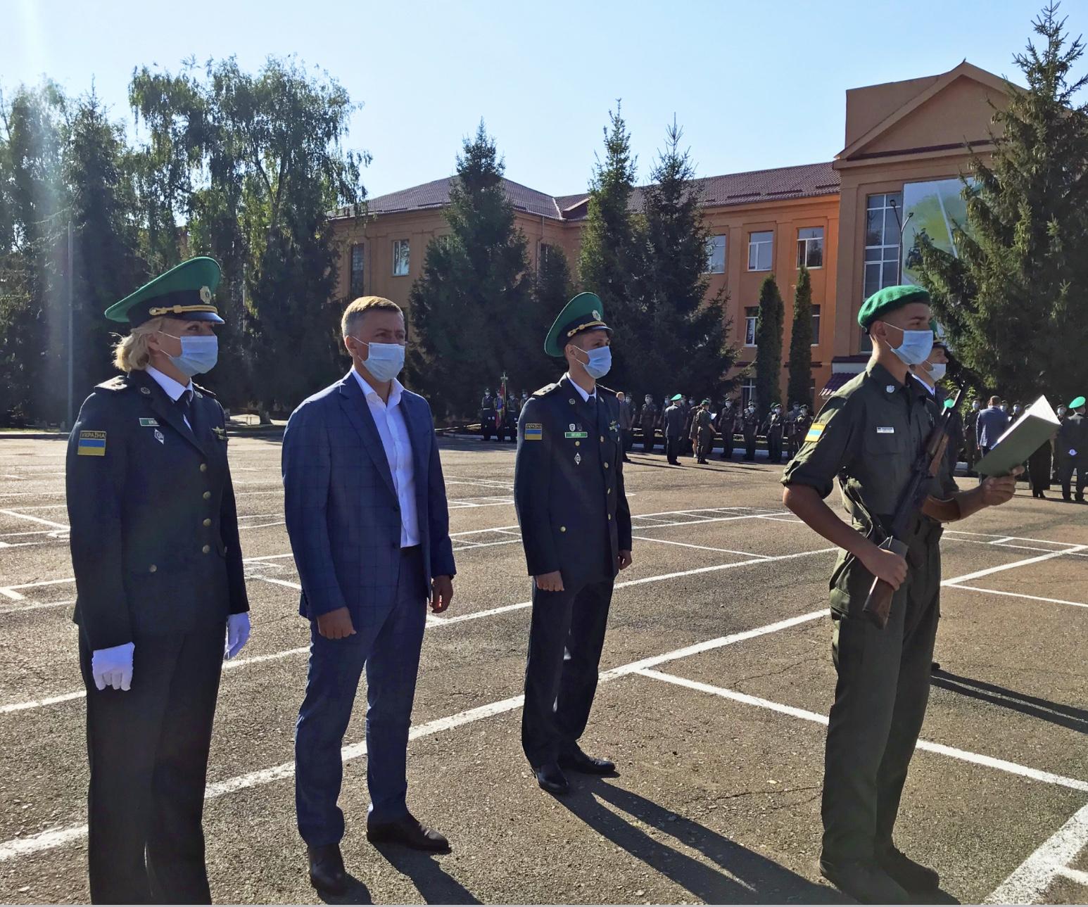 Сергій Лабазюк: «Національна академія прикордонної служби – гордість Хмельниччини»
