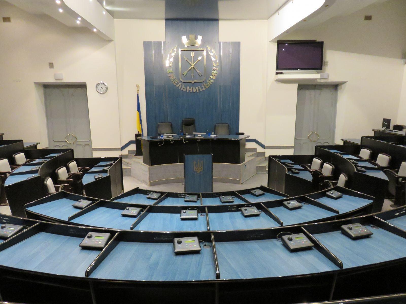 Депутатський корпус Хмельницького складатимуть представники п'яти партій