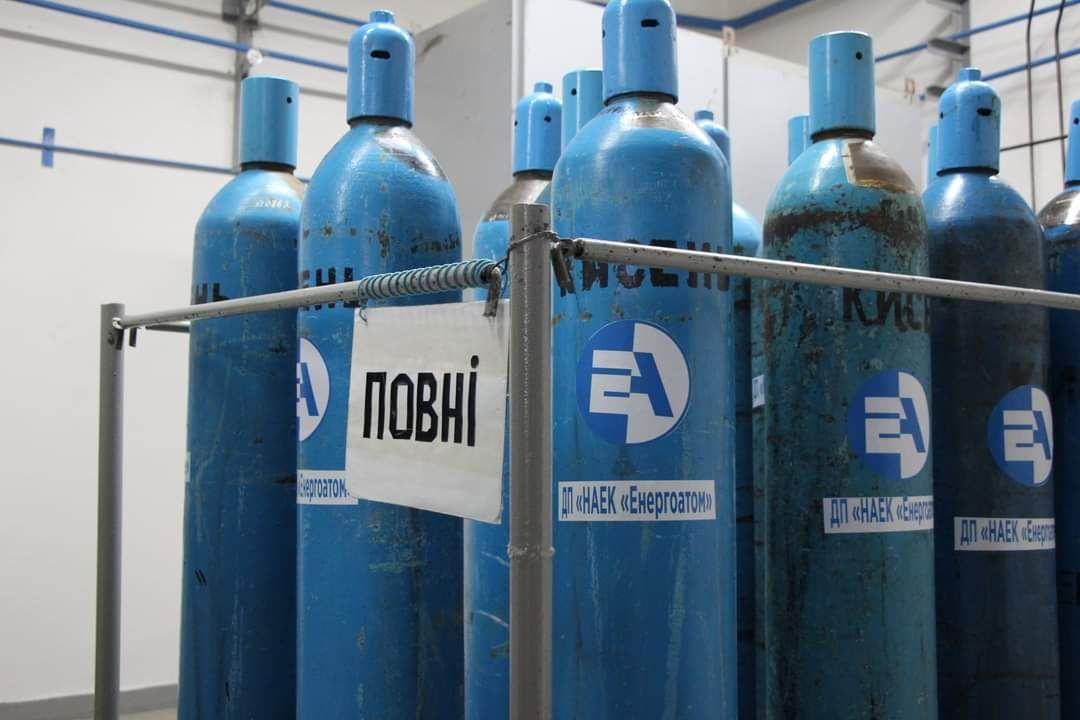 Хмельницька АЕС постачатиме кисень лікарням