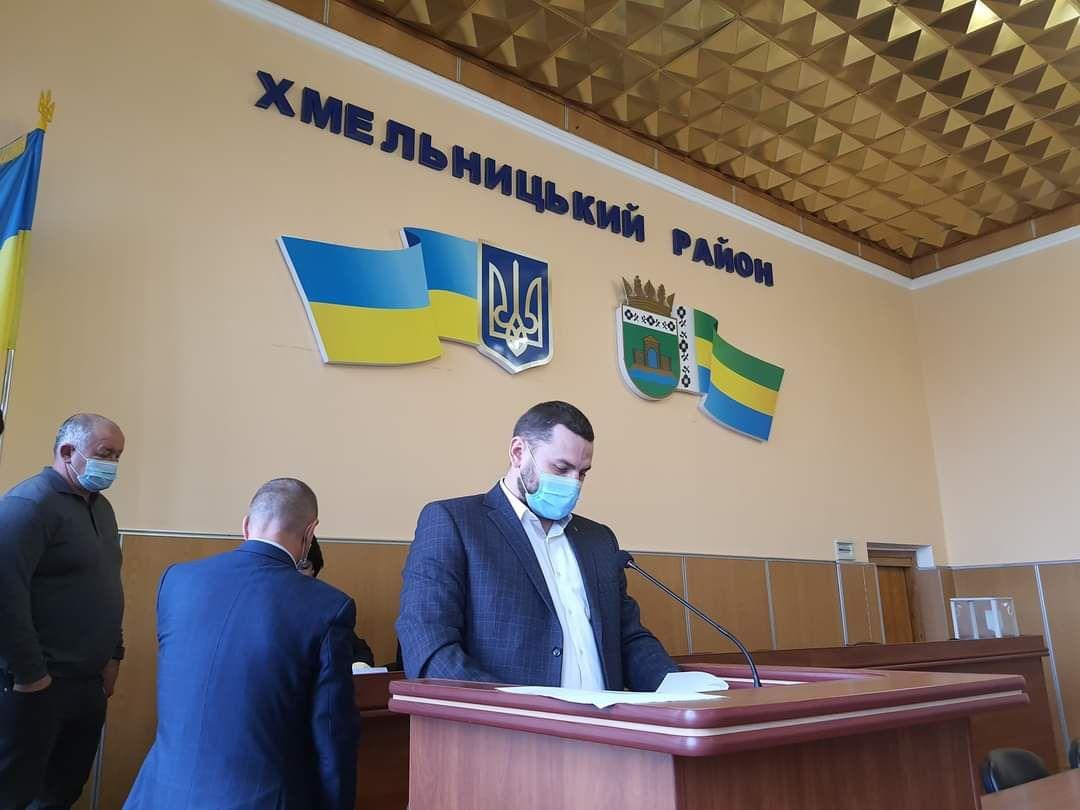 Хмельницьку районну раду очолив підлеглий Симчишина
