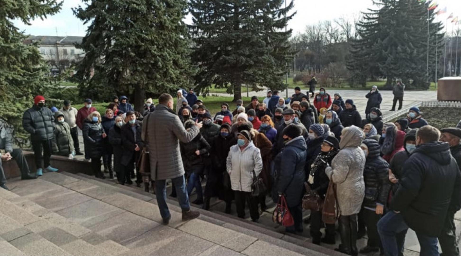 Мешканці Хмельниччини долучилися до «тарифного страйку»